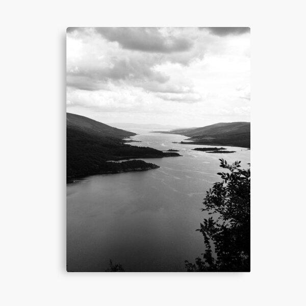 Tighnabruaich Viewpoint Canvas Print