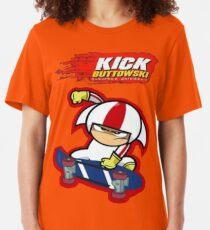 KB - Name of A Daredevil Slim Fit T-Shirt
