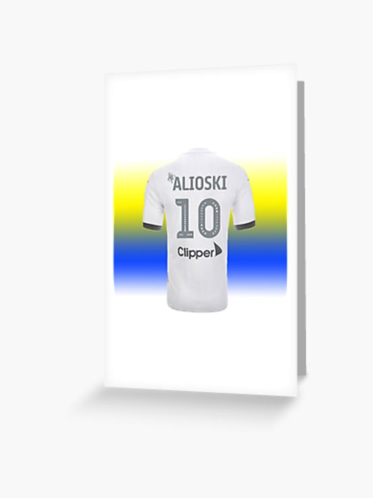 Leeds United F.C SHIRT Personalised Greetings Card