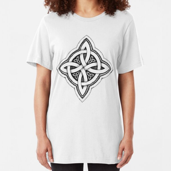 Celtic Luck Knot Slim Fit T-Shirt