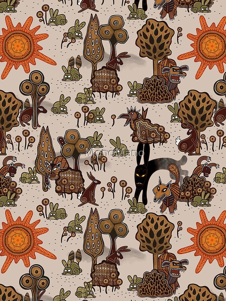 In The Beginning of the World - Watership Down Pattern by MonoMano