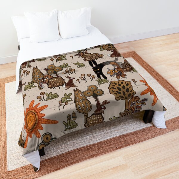 In The Beginning of the World - Watership Down Pattern Comforter