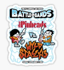 Battle of the Bands Sticker