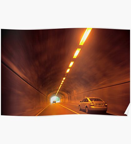 Thru The Tunnel Poster