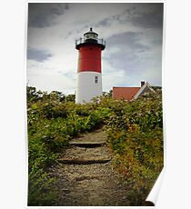 Lighthouse at the Cape Poster