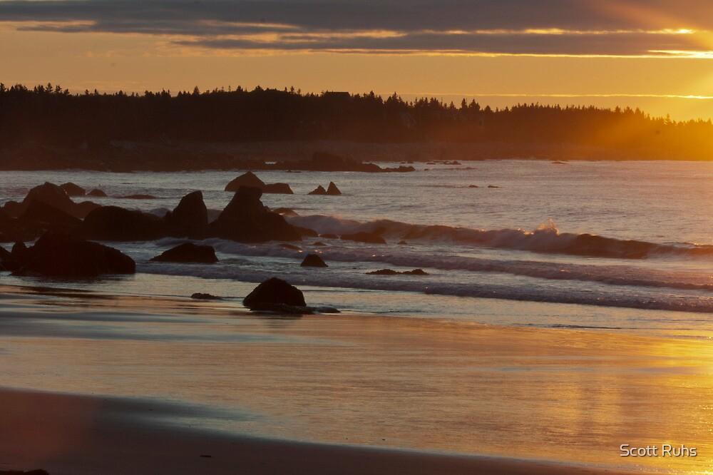 A White Point Sunrise by Scott Ruhs
