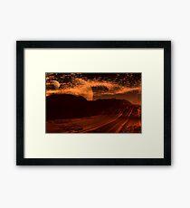 Tremors Framed Print