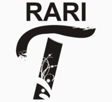 Rari-T T-Shirt (Just Text Version)(MLP:FiM)