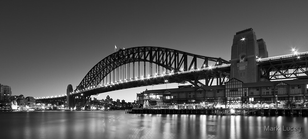 Towards the Bridge by Mark  Lucey