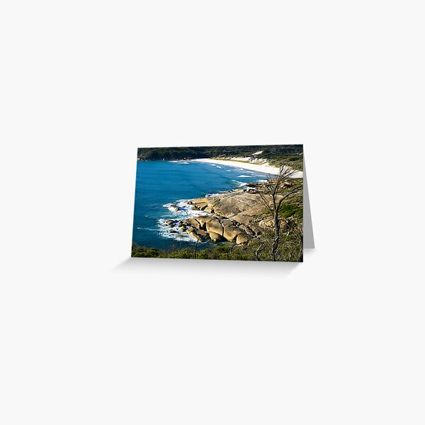 Squeaky Beach, Wilsons Promontory, Victoria. Greeting Card