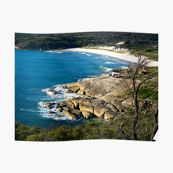 Squeaky Beach, Wilsons Promontory, Victoria. Poster