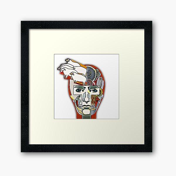 Dream Of Sheep Framed Art Print