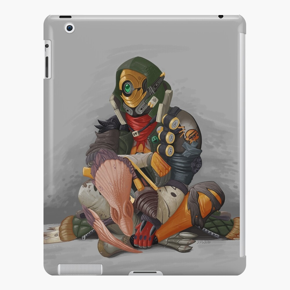 Fl4k and Broodless iPad Case & Skin