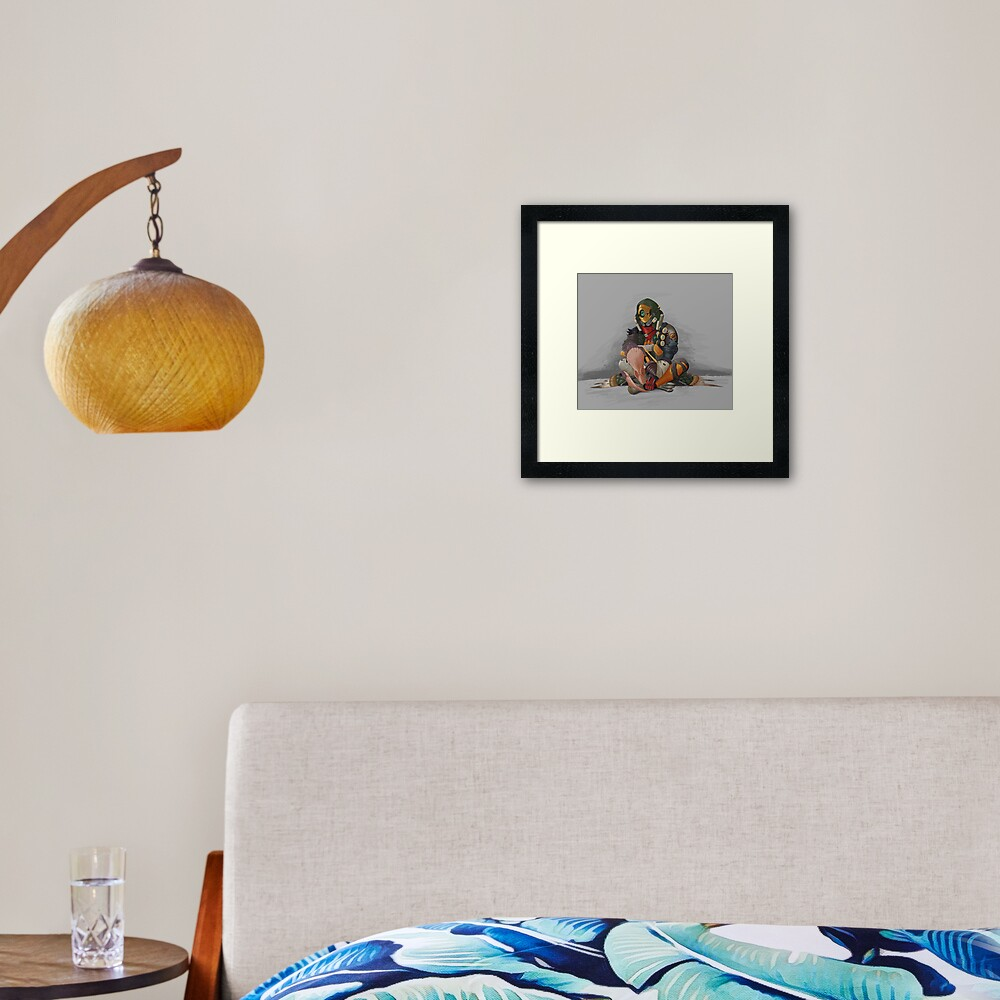 Fl4k and Broodless Framed Art Print