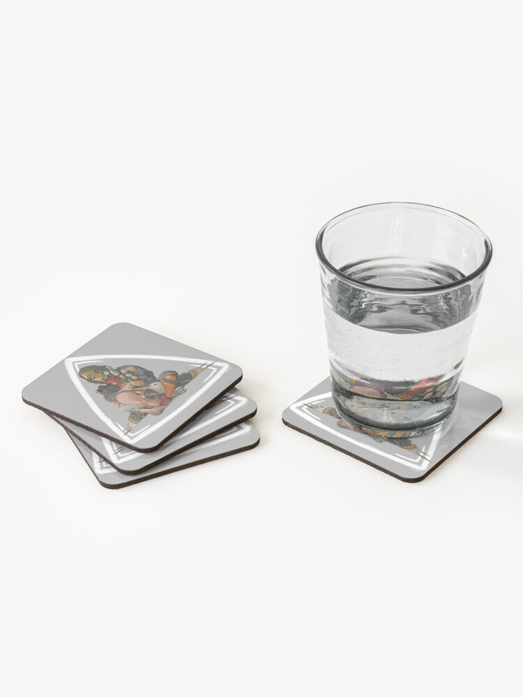 Alternate view of Fl4k and Broodless Coasters (Set of 4)