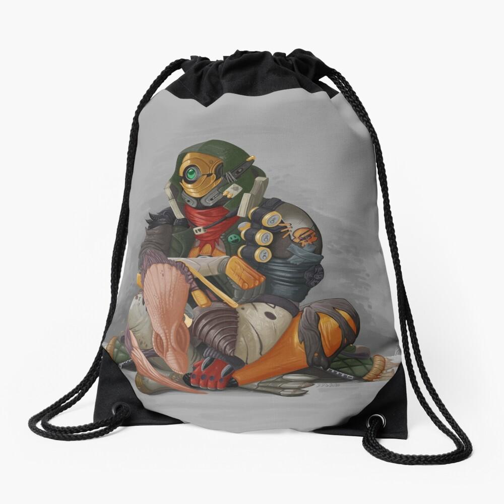 Fl4k and Broodless Drawstring Bag