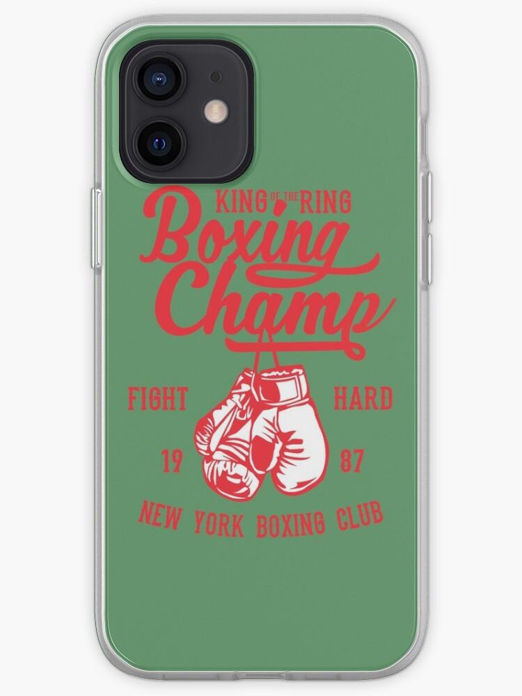 Champion de boxe | Coque iPhone