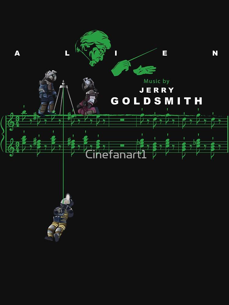 Jerry Goldsmith - The Derelict Spaceship (Series 5) by Cinefanart1
