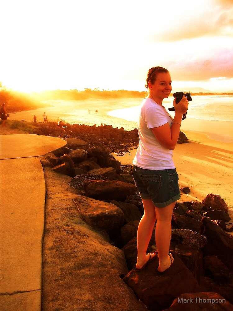 smiling in byron by mark thompson
