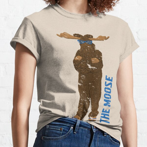 I Am The Moose (distressed) Classic T-Shirt
