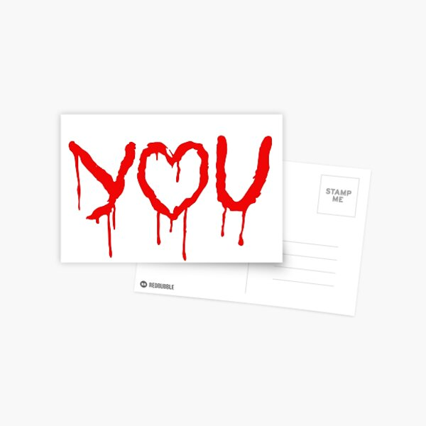 I 'Heart' You - The Abominable Bride Valentine  Postcard