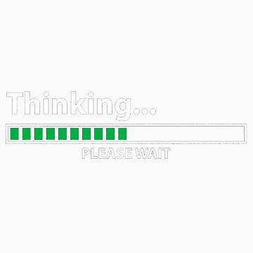 Thinking by Blubb