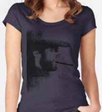 THE MAN WITH NO NAME Women's Fitted Scoop T-Shirt