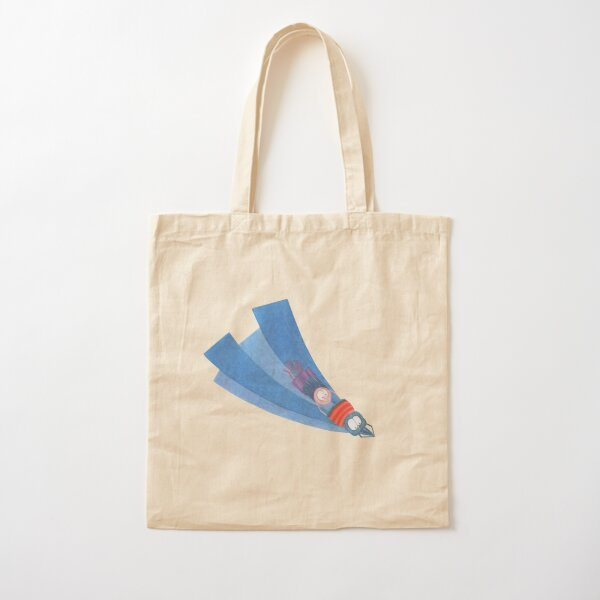 Charlie is flying home Cotton Tote Bag
