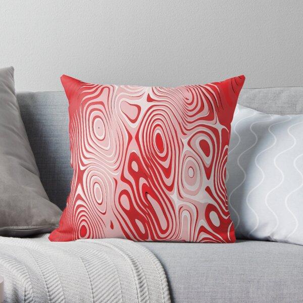 Motif. Visual arts, Psychedelic art. Art movement Throw Pillow