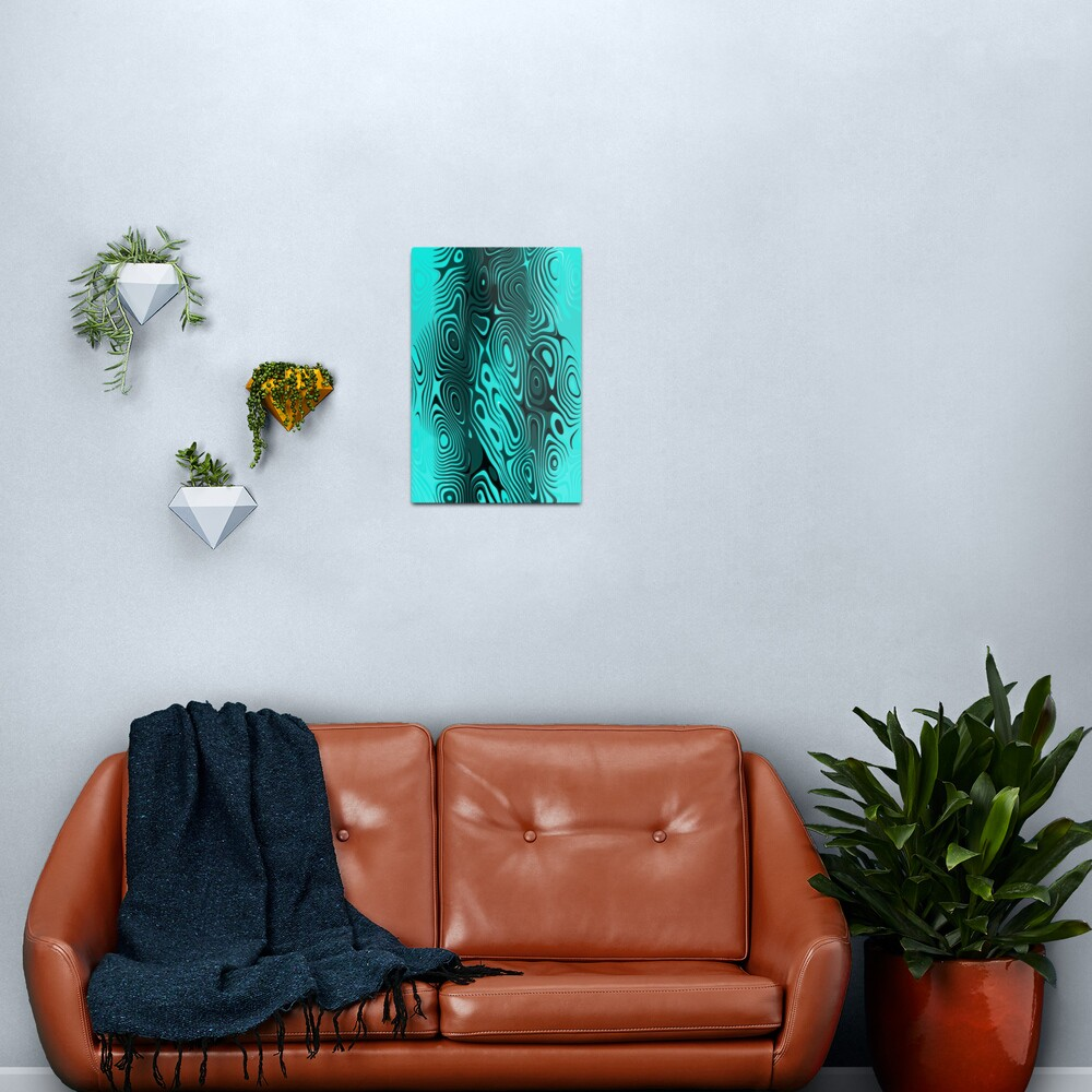 Psychedelic art. Art movement Metal Print
