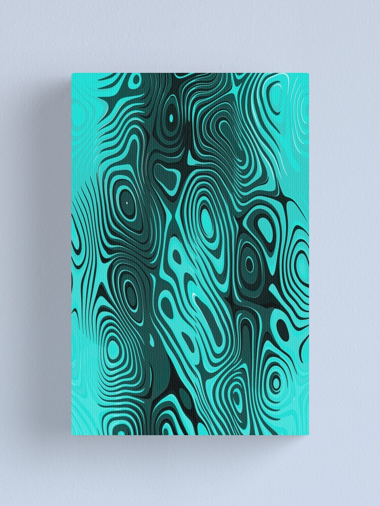 Alternate view of Psychedelic art. Art movement Canvas Print