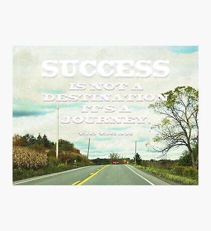 SUCCESS-INSPIRATION Photographic Print