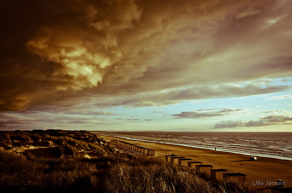 The beach by Ulla Jensen