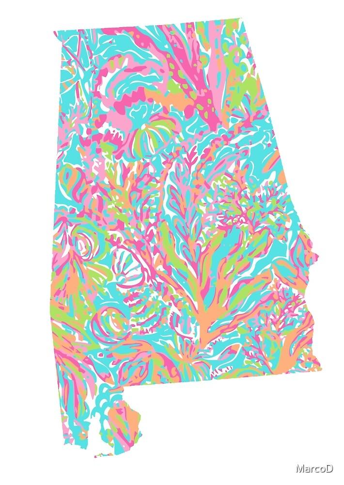 Lilly States - Alabama by MarcoD