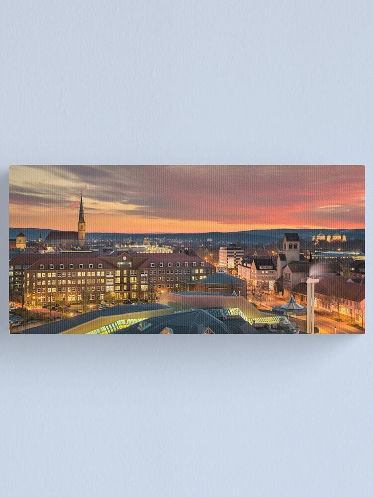 Vista alternativa de Lienzo Skyline de Hildesheim