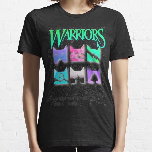 Vaporwave Inverted Warrior Cats Clan Icons for Warriors lovers Essential T-Shirt