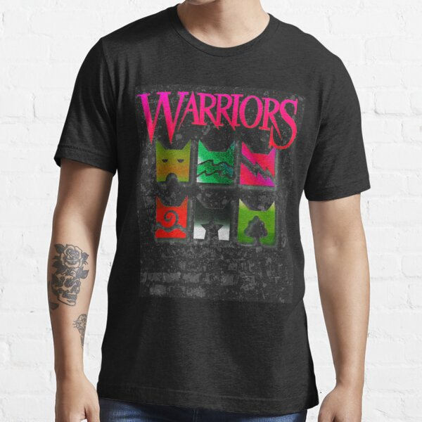 Retro Pink Warrior Cats Clan Icons for Warriors lovers Essential T-Shirt