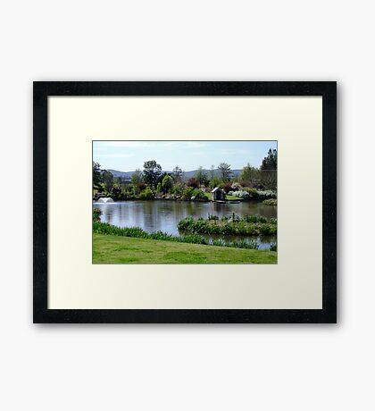 Gracemere Open Garden Framed Print
