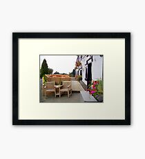 Somewhere in the countryside Framed Print