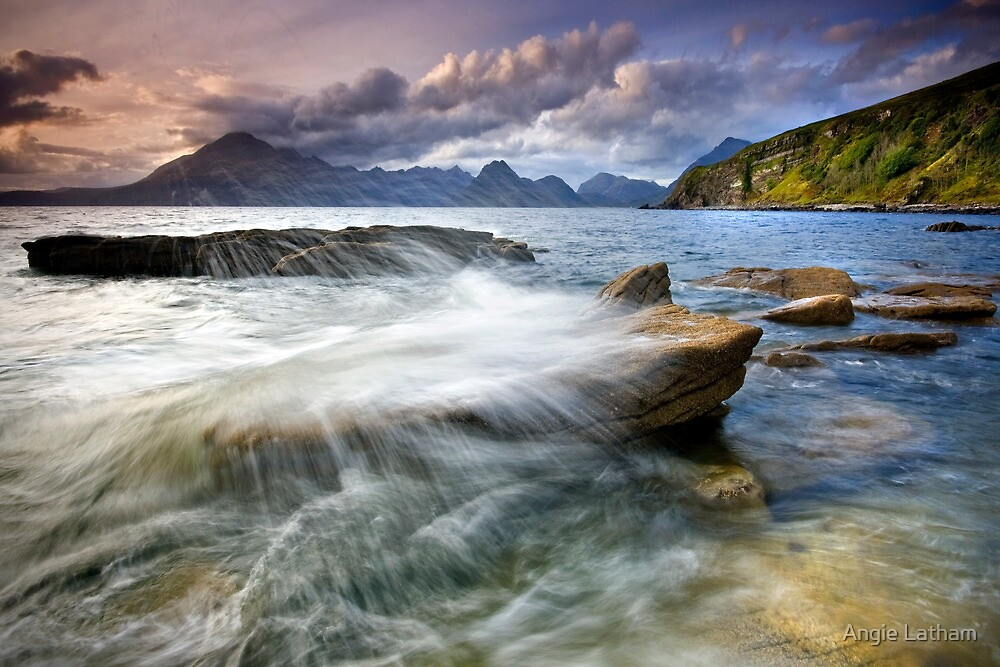 Scotland : Elgol....time for a Soaking!  by Angie Latham
