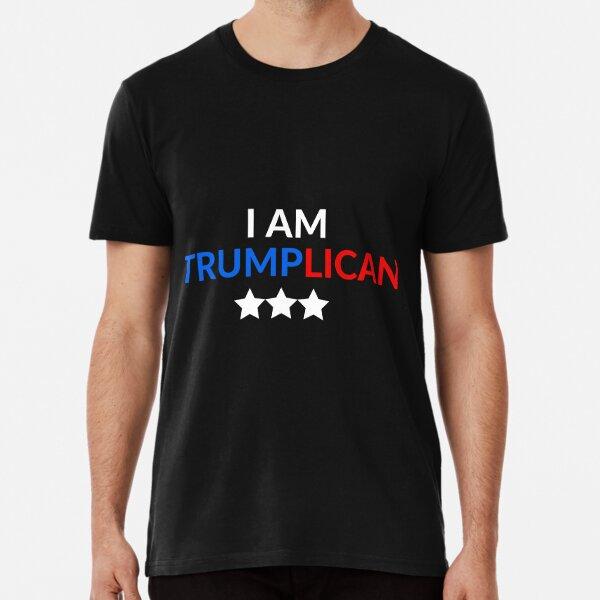 I AM TRUMPLICAN SUPPORT TRUMP T-SHIRTS MAKE AMERICA GREAT AGAIN PROUD TO SUPPORT TRUMP Premium T-Shirt
