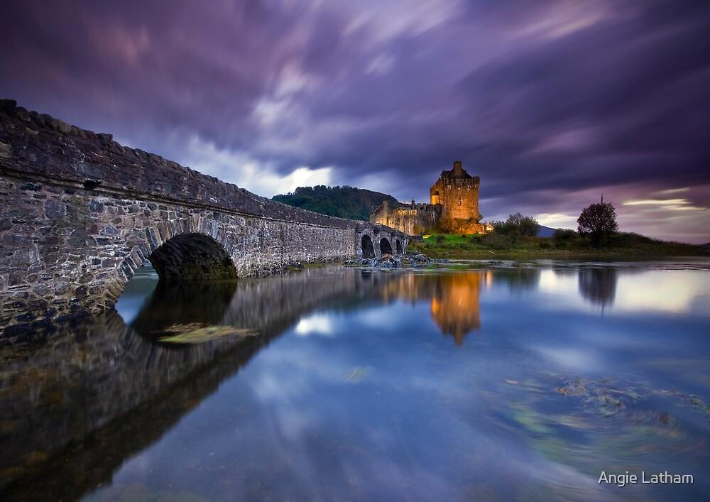 Scotland: Eilean Donan. Time & Tide by Angie Latham