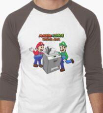 Mario and Luigi Paper Jam Men's Baseball ¾ T-Shirt