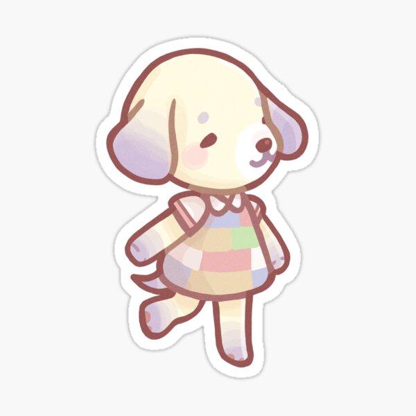 Animal Crossing Daisy Stickers Redbubble