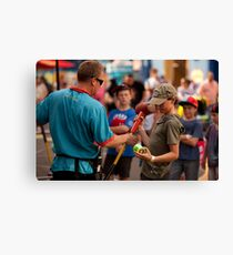 Just For Fun! Canvas Print