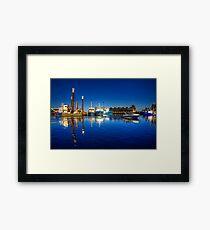 Freemantle Harbour Framed Print