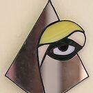 Yellow Eye through the Mirror by cishvilli