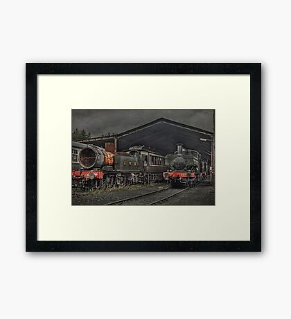 The Shed Framed Print
