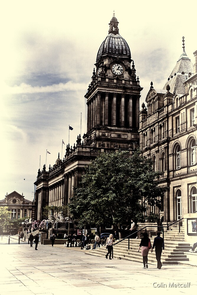 Leeds Town Hall by Colin Metcalf