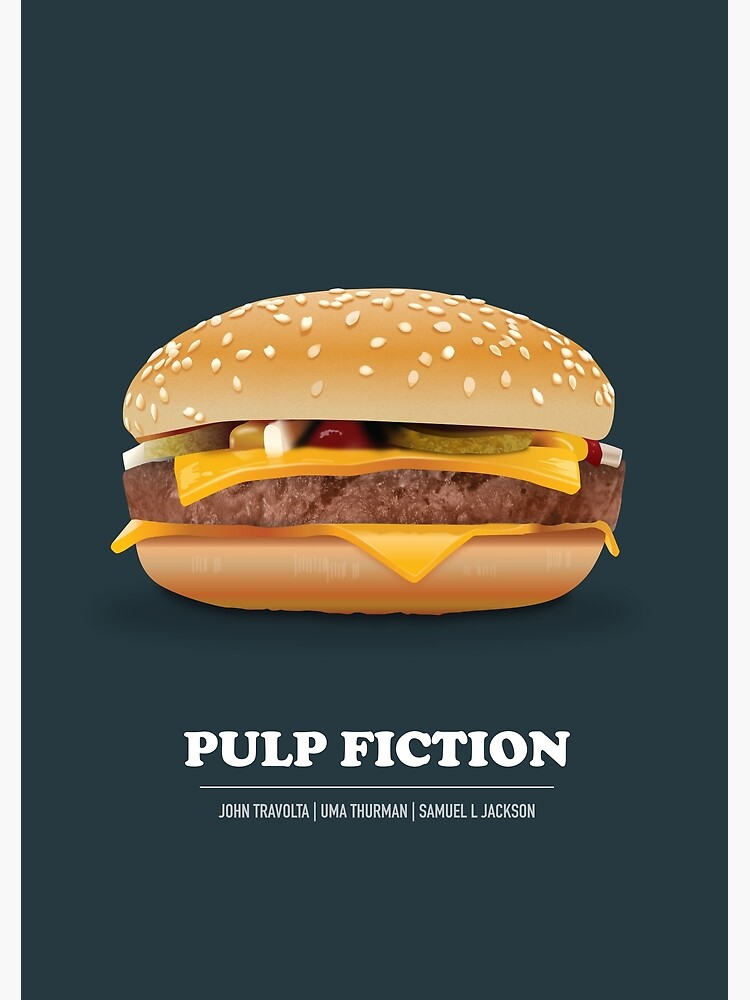 Pulp Fiction - Alternative Movie Poster by MoviePosterBoy